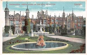 Knebworth, Herts Home of The Earl of Lytton