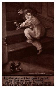 8289  Child climbing stairs, Poem