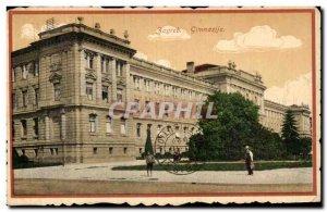 Old Postcard Zagreb