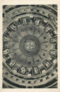 Krásna Hôrka Castle Slovakia mausoleum cupola mosaic photo postcard