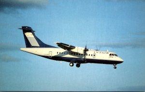 INTAIR Canada Aerospatiale/Aeritalia ATR 42-300 At Dorval Airport Montreal
