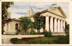 VA - Arlington. Curtis-Lee Mansion