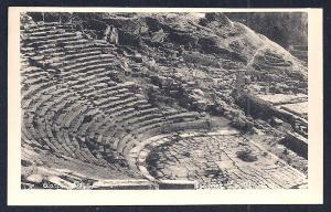 Theatre @ Delphos Isle of Delos Greece unused c1920's