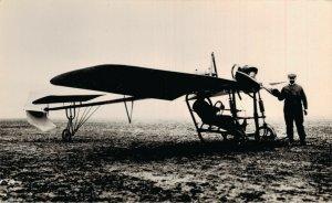 Aviation 1910 Le Monoplane Botty Airplane RPPC 07.30