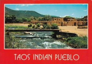 New Mexico Taos Creek In Taos Indian Pueblo