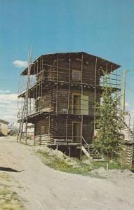 Skyscraper Log Cabin , Whitehorse , Y.T. , Canada , 50-60s