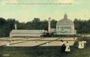 USA Lawn Tennis Grounds and Conservatory Druid Hill Park Baltimore 03.82
