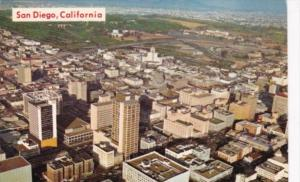 California San Francisco Aerial View Of Downtown