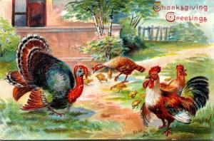 Thanksgiving With Turkey 1907