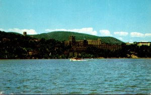 New York West Point From The Hudson U S Military Academy 1959
