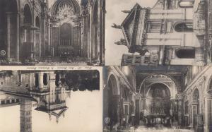 Roma Chiesa Di San Francesca Romana Rome 4x Old Postcard s