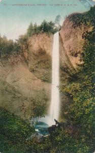 Latourelle Falls, Oregon on the O.R.& N. Railroad Co. - pm 1910 - DB