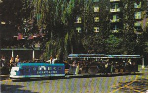 Miniature Train Sheraton-Park Hotel Washington DC