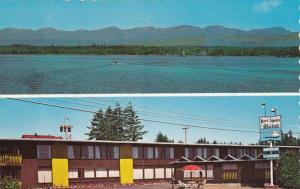 2-Views, Waterfront, Port Agusta Motel, Comox, British Columbia, Canada, 40-60's