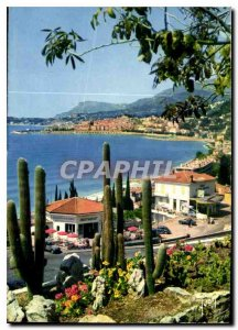 Postcard Modern colors and light of the French Riviera France miracle of natu...
