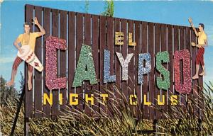 Santurce Puerto Rico 1960s Postcard Calypso Night Club