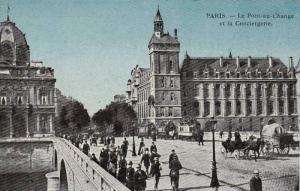 Paris , France , 00-10s : Le Pont-au-Change et la Conciergerie