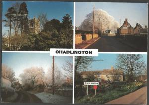 Postcard CHADLINGTON Oxfordshire Multiview by New Perspectives