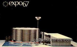 Montreal, Canada Exposition, 1967 expo 67 Unused