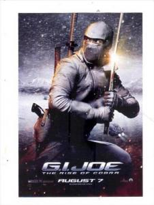 Movie Advertising postcard G.I. JOE #7