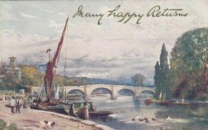 LONDON , England , UK , 1900-10s ; Richmond Bridge, TUCK # 6251