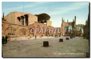 Postcard Modern Coventry Cathedral The Ruins