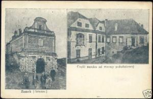 poland, ZAMEK, Brama Krakowska Królewski, Castle (1905)