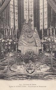 Dunkerque Notre Dames Des Dunes La Vierge Interieure Religious Postcard