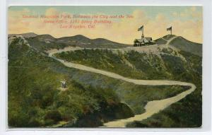 Lookout Mountain Park Home Office Los Angeles California 1910c postcard