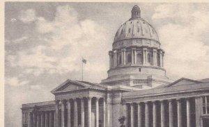 Missouri Jefferson City New Missouri State Capitol