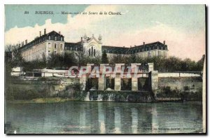 Postcard Old House Bourges mother of the Sisters of Charity