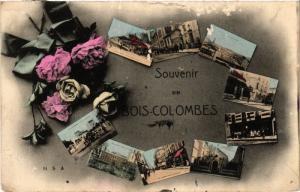 CPA BOIS-COLOMBES Souvenir (413586)