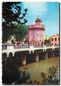 The Modern Postcard Roussillon Perpignan The Cadstellet (4 es) and Magenta br...