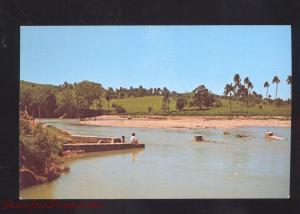 MOCA R.D. DOMINICAN REPUBLIC PARAJE LOS BRAZAS RIA JAMAO VINTAGE POSTCARD