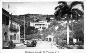 St. Thomas Virgin Islands Charlotte Amalie Real Photo Vintage Postcard JJ649628