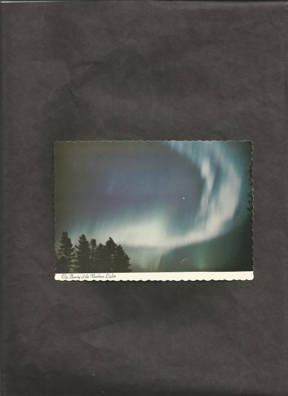 Northern Lights Over Labrador Dexter Color Canada Postcard