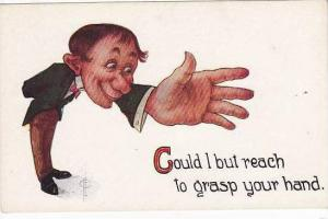 Fred Cavally  Glad Mitt Series   Grasp Your Hand