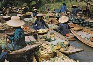 Thailand Rajburi Province Damnernsaduak Floating Market sk7379