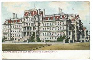 US War State & Navy Depts, Washington DC