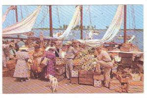Native Water Front Market - Fresh Fruits & Vegetables, Nassau, Bahamas, 1940-...