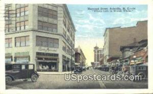 Haywood Street Asheville NC 1929