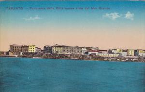 Taranto , Puglia,  Italy , 00-10s ; Panorama della Citta nuova vista dal Mar ...