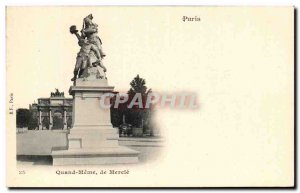 Old Postcard From Paris Even When Marcie