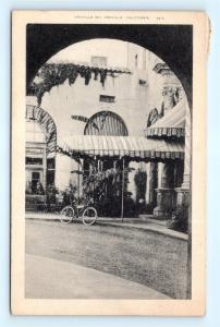 Postcard CA Oroville c1930s View Entrance Oroville Inn  K05