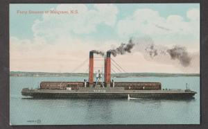 Railcar Ferry SS Scotia At Mulgrave - Very Scarce Card