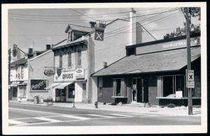 canada, Unknown Town, Ontario (?), Murray Drug, Bank Montreal (1950s)