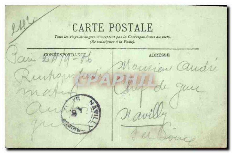Postcard Old Paris's Bastille Square