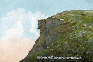 NH - White Mountains, Old Man of the Mountain