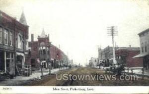 Main Street  Parkersburg IA 1903