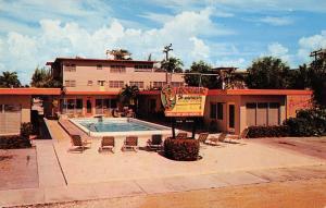 Fort Lauderdale Florida 1950s Postcard Panoramic Apartments